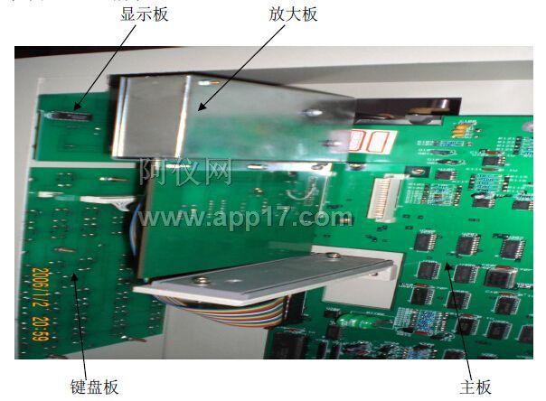 图2-3 GC-9890A 主板侧面图