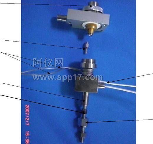 氢火焰检测器的结构