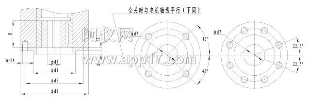 5、开度指示机构:结构见图5。开度指示盘固定于行程开关上,凸轮轴转动使指针同时转动,以指示阀门的开关量,同时,凸轮轴上的开度齿轮通过中间齿轮带动电位器齿轮,电位器轴转动,供远传开度指示用。 6、手电动切换:全自动切换,需手动时直接转动手轮即可操作电动装置;需电动时直接电动操作,没有切换手柄的操作。 注意:电动运行时请勿转动手轮! 7、机械限位:参见图1,当行程控制机构不起作用时,用于保护阀门不至超行程而引发事故。 8、整体型和整体调节型电气部分结构 (1)整体型:控制系统与电动装置集合于一体称为整体型电动