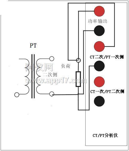 pt二次负荷测量接线图