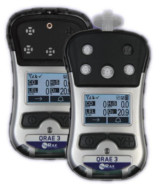 美国华瑞四合一气体检测仪(QRAE3个人用四气体无线检测仪)