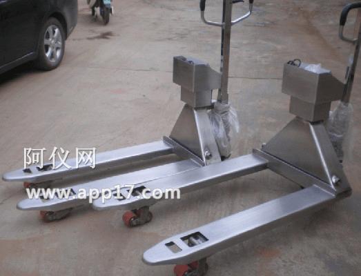 SCS-JB不锈钢电子叉车秤