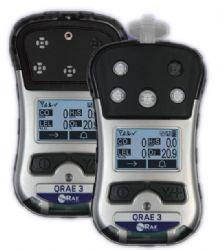 美國華瑞四合一氣體檢測儀(QRAE3個人用四氣體無線檢測儀)